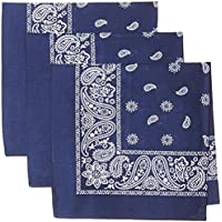 Levi's Men's 100% Cotton Bandana Headband Gift Sets