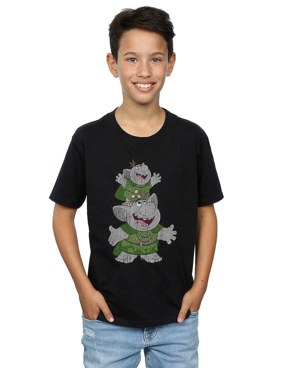 Disney Boys Frozen Handstacking Trolls T-Shirt