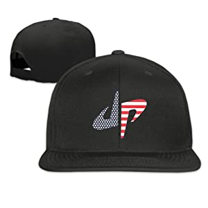 DP Dude Perfect Stars And Stripes Unisex Adjustable Flat Hat Bill Baseball Cap Outdoor Sports 8 Colors