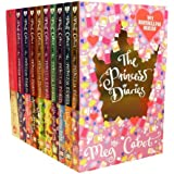 The Princess Diaries Collection Meg Cabot 10 Books Set (The Princess Diaries, Take Two, Third Time Lucky, Mia Goes Fourth, Give Me Five, Sixsational, Seventh Heaven, After Eight, The Princess Diaries to the Nine, The Princess Diaries Ten out of Ten)