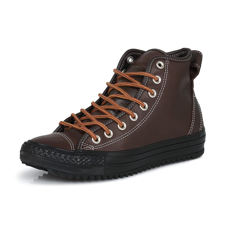 b65c2e480fe1 Converse Chuck Taylor Hollis Hi Mens Chocolate Trainers-UK 8  Amazon.co.uk   Shoes   Bags