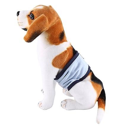 Banda Lavable de Vientre para Perro Animal Doméstico Pañales Masculinos de Perro Banda de Vientre Durable
