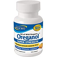Oreganol P73, Super Strength - 120 Softgels by North American Herb & Spice