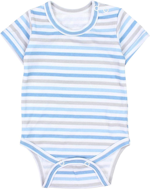 5er Pack TupTam Jungen Baby Body Kurzarm in Unifarben
