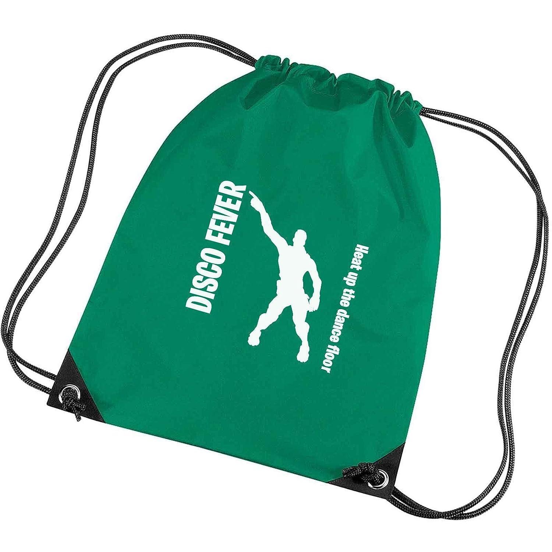 Apparel Printing Disco Fever Heat Up The Dance Floor Emote Gym Bag