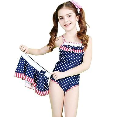 Amazon.com: Bikini fábrica Niñas Pequeñas