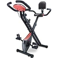 Sportstech X100-B/X150 X Bike 4in1 hometrainer met smartphone-app, uniek trekbandsysteem, handpulssensoren Ergometer…