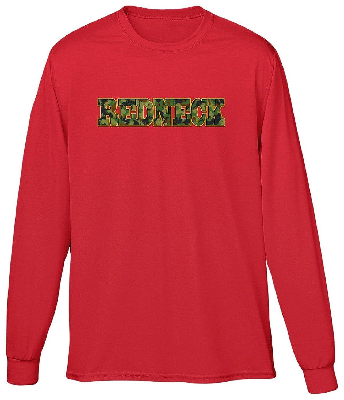 Blittzen Mens Long Sleeve T-shirt Redneck - Camo Print