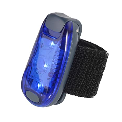 Joggers Bike Kids Walking The Best Accessories for Your Reflective Gear Dogs Bicycle Cycling Green Nighttime Multi-function LED Safety Strobe Light Warning Clip On Running Lights for Runner