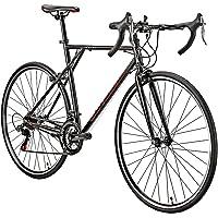 Eurobike 21 Speed Shifting System XC560 Road Bike 56 cm Frame Adult Road Bicycle Black