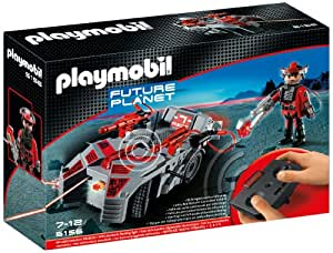 PLAYMOBIL Dark Rangers' Explorer with IR Knockout Cannon