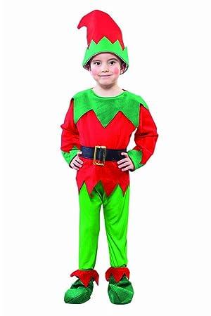 Fyasa 706172-t00 elfo disfraz, pequeño: Amazon.es: Juguetes y juegos