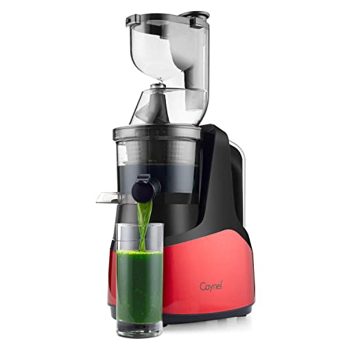 Caynel Slow Masticating Juicer Extractor Cold Press