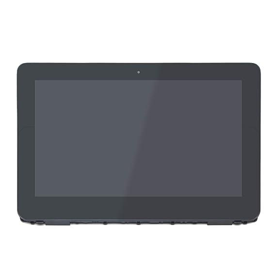 FTDLCD® 11.6 Inch Reemplazo HD LCD Pantanlla + Pantalla Táctil + Marco Digitalizador de Ordenador Portátil para HP Chromebook x360 11-ae131nr 11-ae040nr ...