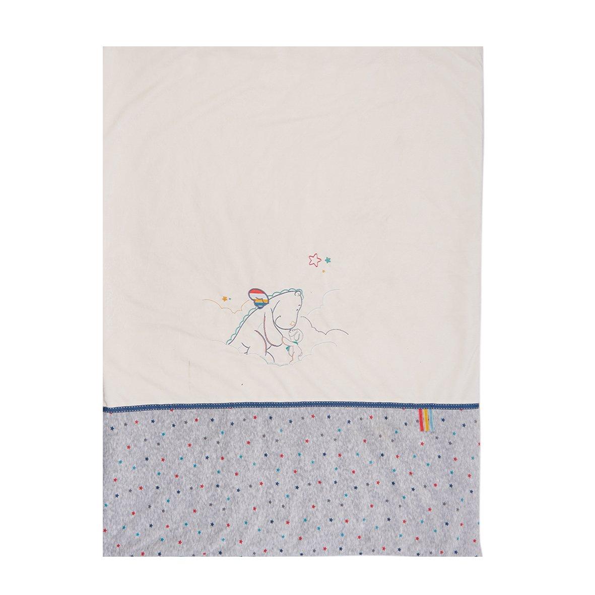 Noukies BB1610.42 Guss & Victor Veloudoux Decke, 75 x 100 cm, weiß