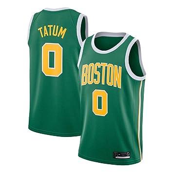 Hombre Ropa de Baloncesto NBA Boston Celtics 0# Tatum Jersey ...