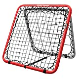 Crazy Catch Wildchild Double Trouble Rebounder Net - with 2 visionballs! (Yellow&Green) (93 x 93cm)