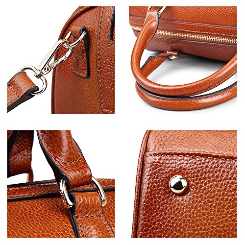 Genuine Bag 2w Myleas Handbag st5646 Leather Women Belt With Shoulder Black qtXUqOxSWw