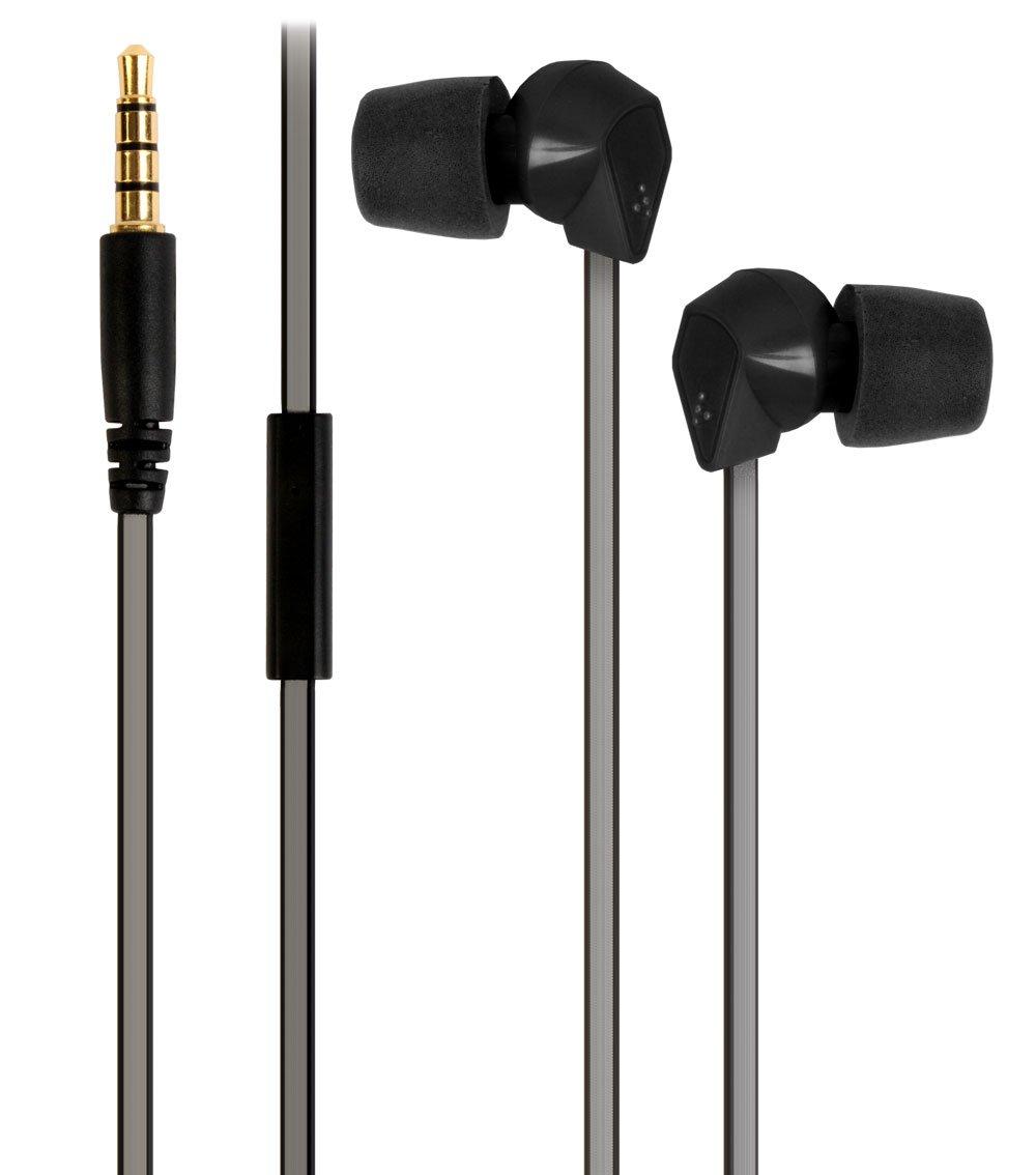 STANLEY Memory Foam In-Ear Rugged High Response Earphones with Microphone