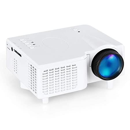 Proyector LCD 1800 lúmenes Mini proyector Admite 1080p Full HD ...