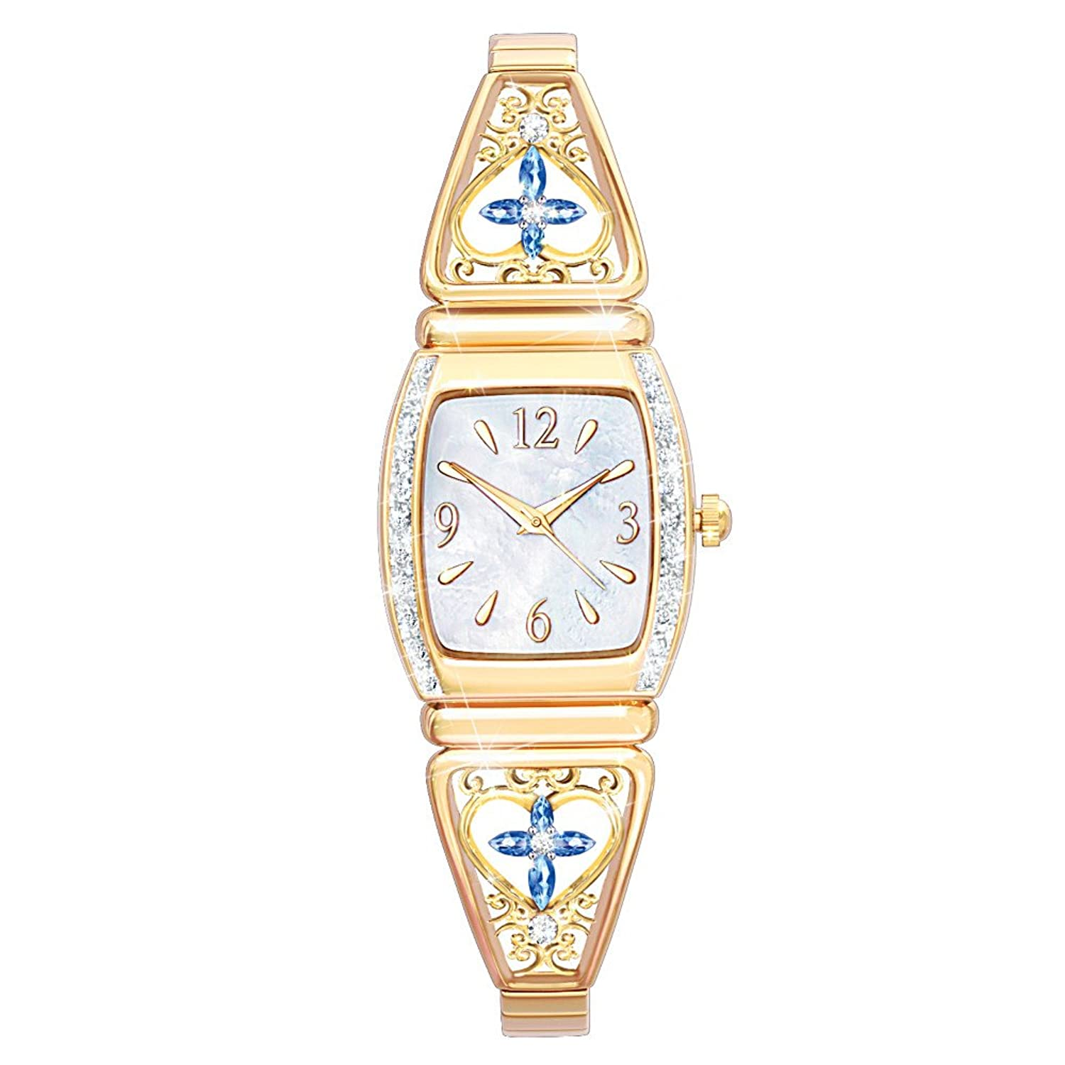 Amazon.com: Moments Of Faith Religious Women's Watch by The ...
