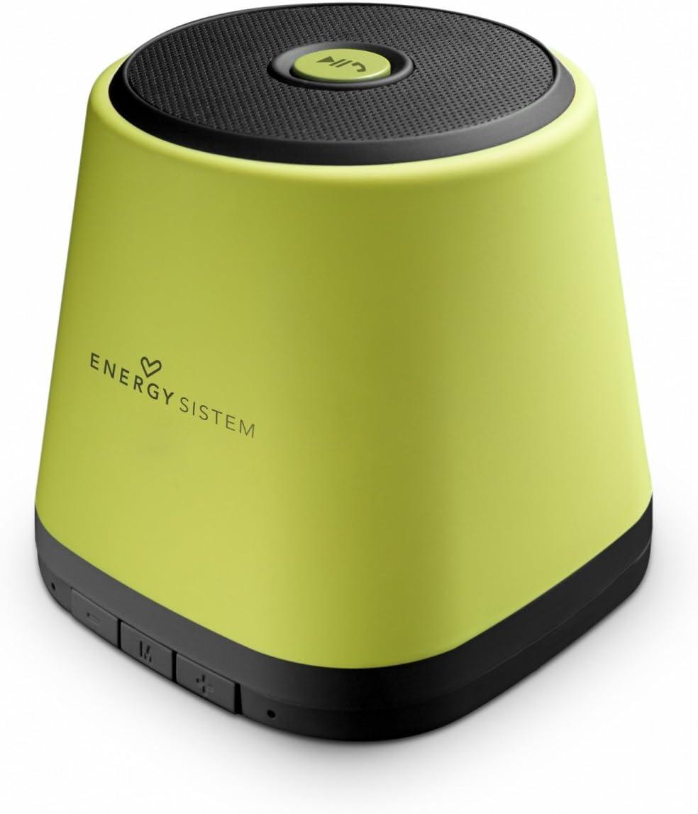 Energy Sistem Music Box BZ1 - Altavoz portátil (Bluetooth, indicadores LED, 3 W), color verde: Amazon.es: Electrónica