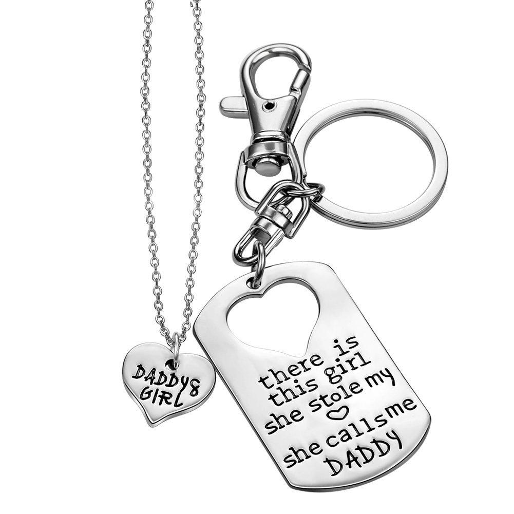 éloi-Daddy \'s Girl Halskette Vater Tochter Jewelry Dad Geschenke aus ...
