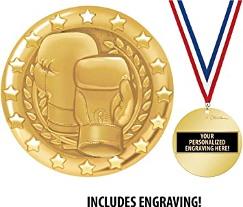 Football Medals with Ribbons Set of 20 30 or 40 FREE ENGRAVING