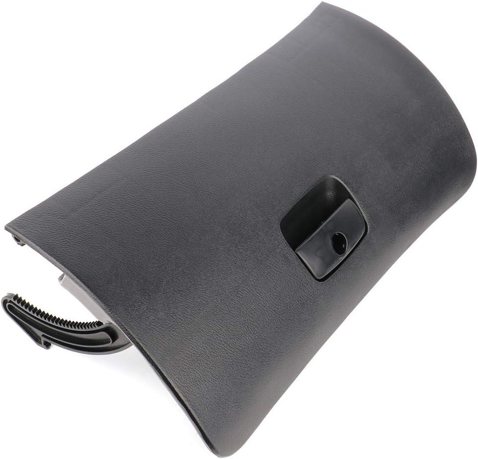 SCITOO Black Car Console Glove Box Door Cover Lid Latch For 1998-2005 Passat B5