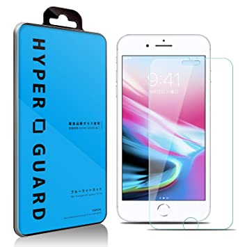 e86eaf7ed2 Amazon | [HYPER GUARD]【第2世代】 交換保障 iPhone8 / iPhone7 ...