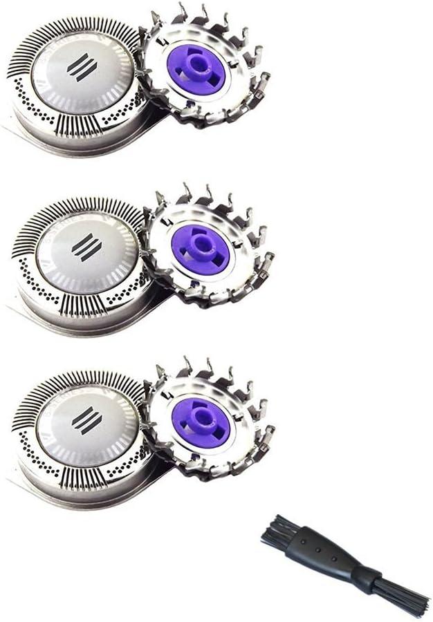 Adecuado para Philips Philishave HQ8 Sensotec Spectra Uso con las afeitadoras Philips: serie 7100, serie 7200, serie 8400-8800, cabezales de afeitadora cuchillas de afeitar y láminas de recambio