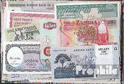 Prophila Billetes para coleccionistas: África 15 Diferentes Billetes: Amazon.es: Oficina y papelería