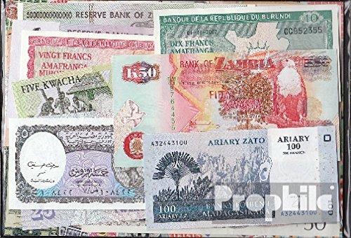 Prophila billetes para coleccionistas: África 15 diferentes billetes