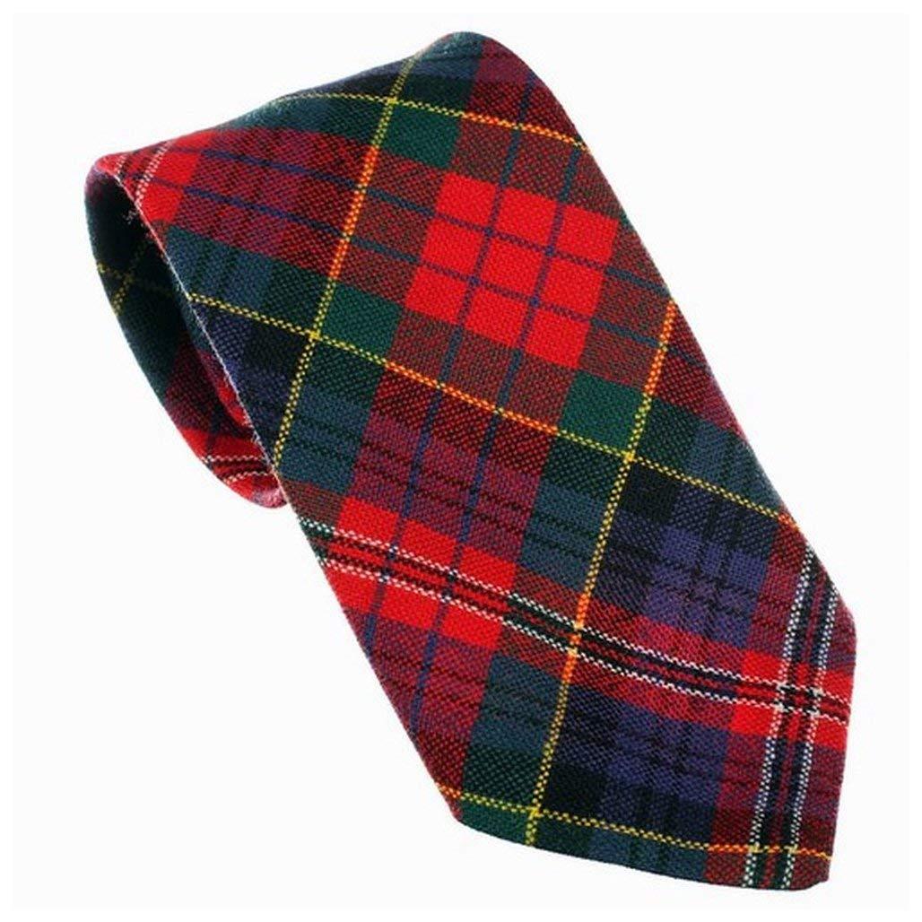 100/% Wool Tartan Neck Tie MacPherson Modern