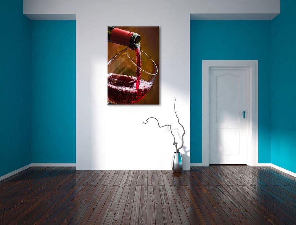 Vin rouge Noble Format: toile 60x40auf aucune affiche ou poster limpression de limage Art mural avec cadre XXL /énormes Photos compl/ètement encadr/és par la civi/ère moins cher que peintures /à lhuile et de limage