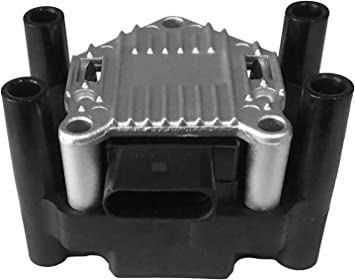 Coil Pack Fits VW 2.0 Fits 1999 032905106B 2001 Volkswagen Golf 032 905 106B Ignition Coil Pack 2000 Beetle 2.0L Jetta Replaces Part 032905106E