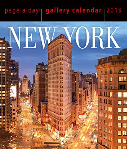 New York Page-A-Day Gallery Desk Calendar 2019 [6.25