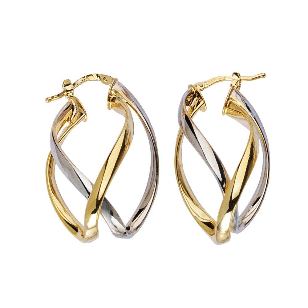 Hoop Earrings SS FANCY HOOP EARRINGS