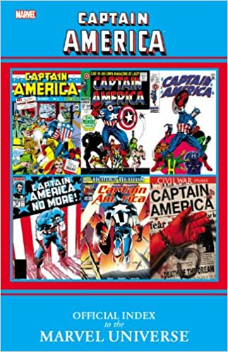 Captain America: Official Index to the Marvel Universe: Marvel