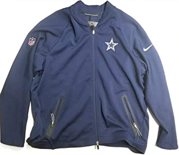 reputable site 3ab9b dc7d0 Nike Men's Therma-Fit Dallas Cowboys Coach Sideline Full-Zip ...