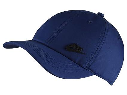 Nike Y NK H86 Cap Metal Futura Hat, Unisex niños, Indigo Force/Black