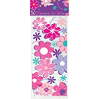 Blossom Birthday Cellophane Bags, 20ct