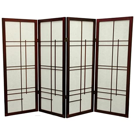 Exceptionnel Oriental Furniture Low Eudes Shoji Screen Room Divider   48 Inch