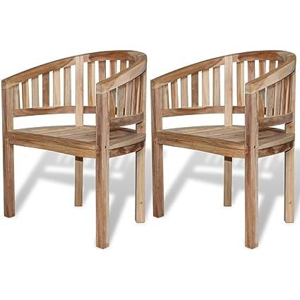 Outstanding Amazon Com Homedecor Outdoor Patio Teak Banana Halfmoon Cjindustries Chair Design For Home Cjindustriesco