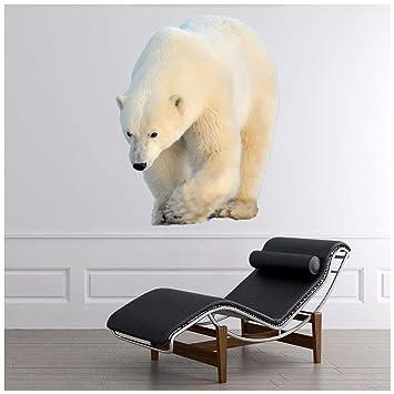 Amazon Com Azutura Polar Bear Wall Sticker Nature Animals Wall