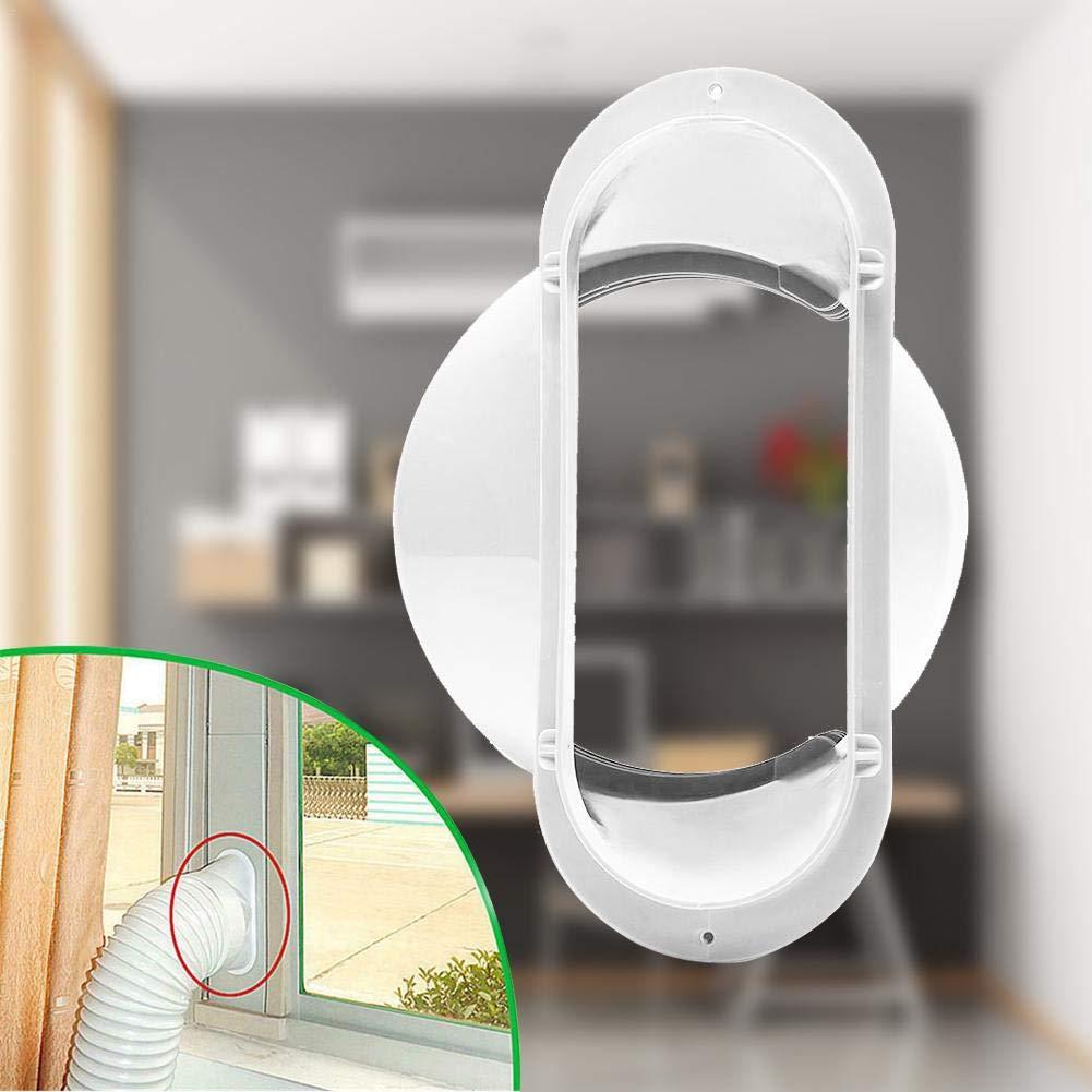 5 pollici Accessori di interfaccia per montaggio a parete con flangia a bocca piatta per tubo di scarico del condizionatore daria portatile da 13 cm