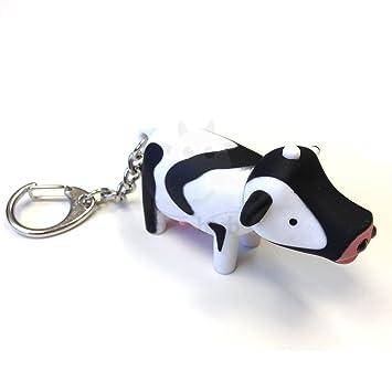 Vaca Llavero con LED hace ruido