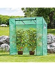 Tomatengewachshaus Bausatz Tomatenzelt Mit Aufrollbarer Tur 2x2x06 M