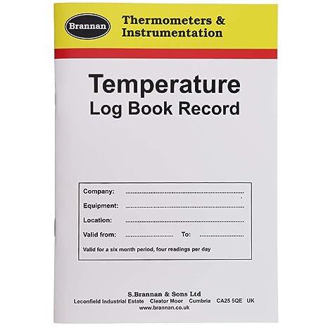 Temperatura Log libro 6 Meses - Monitor para frigorífico ...