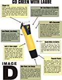 Laube Lazor 2-speed corded yellow clipper kit with